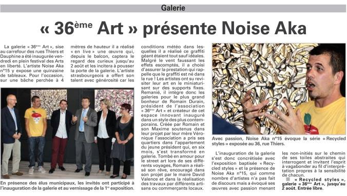 Article par Vosges Matin