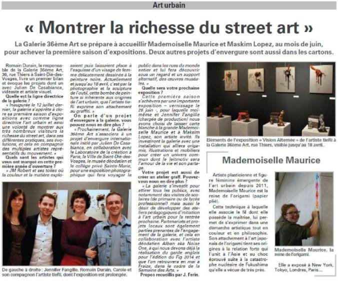 ARTICLE GALERIE GENERAL