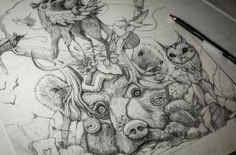Sketch DULK